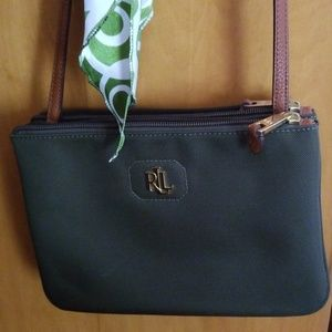 Lauren Ralph Lauren nylon crossbody bag